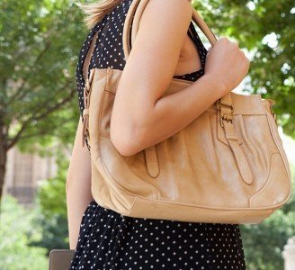 Is your purse causing back pain?